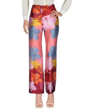 Повседневные брюки BAGUTTA. Цвет: коралловый