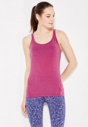 Майка спортивная Gap. Цвет: фиолетовый
