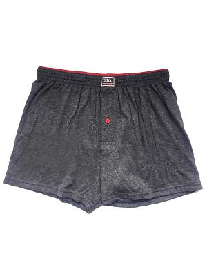 Трусы Oztas underwear. Цвет: темно-серый, красный