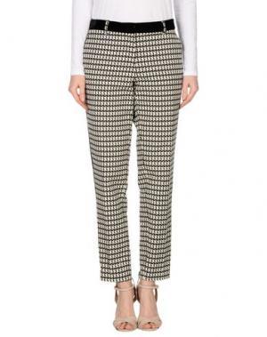 Повседневные брюки FRANKIE MORELLO. Цвет: слоновая кость