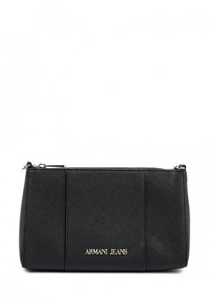 Сумка Armani Jeans. Цвет: черный