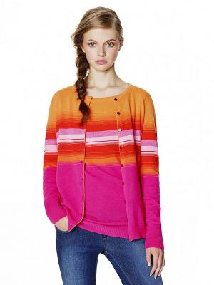 Джемпер United Colors of Benetton. Цвет: розовый, оранжевый