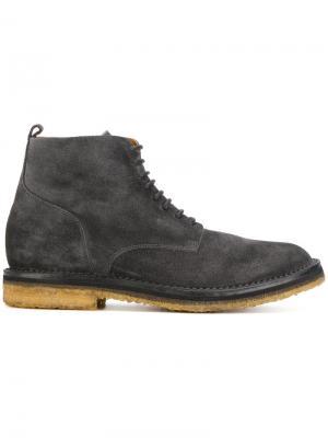Классические ботинки по щиколотку Buttero. Цвет: серый