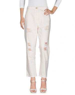 Джинсовые брюки TOY G.. Цвет: белый
