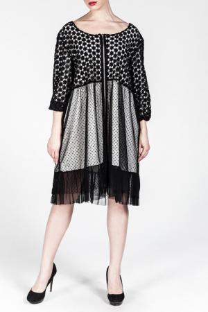 Платье Moda di Lorenza. Цвет: белый