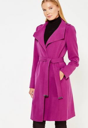 Пальто Wallis. Цвет: фиолетовый