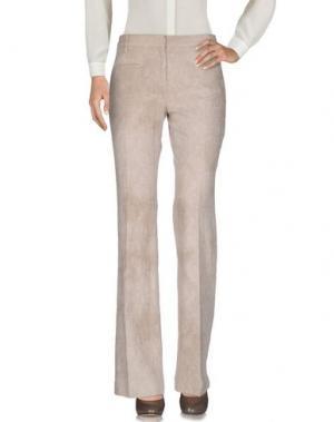 Повседневные брюки TRUE ROYAL. Цвет: бежевый