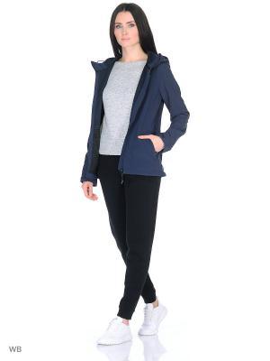 Куртка BRUNOTTI. Цвет: темно-синий