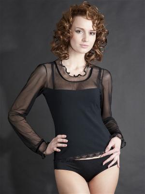Блузка V.I.P.A. Цвет: черный