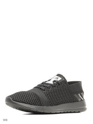 Кроссовки element refine 3 m  CBLACK/CBLACK/CBLACK Adidas. Цвет: черный