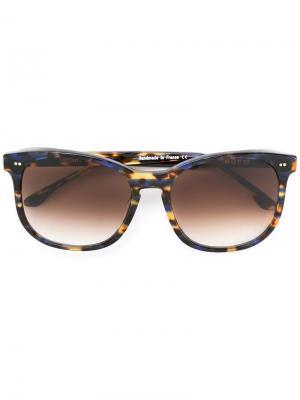 Солнцезащитные очки Gloomy Thierry Lasry. Цвет: коричневый