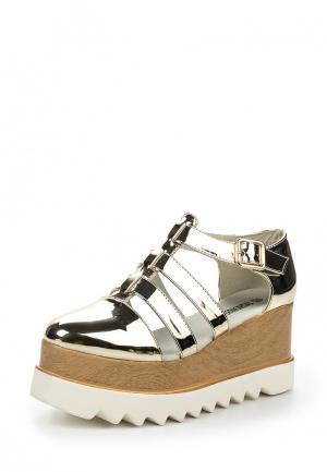 Туфли Fashion & Bella. Цвет: золотой