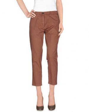Повседневные брюки INX #THINK COLORED. Цвет: светло-коричневый