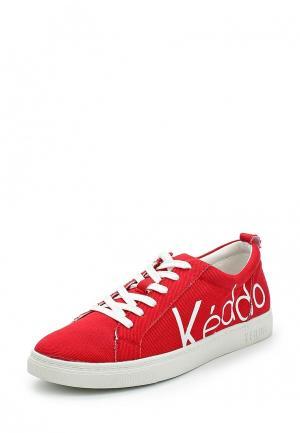 Кеды Keddo. Цвет: красный