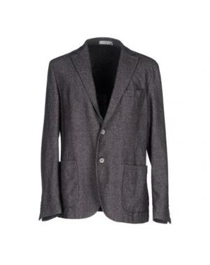 Пиджак MANUEL RITZ WHITE. Цвет: свинцово-серый
