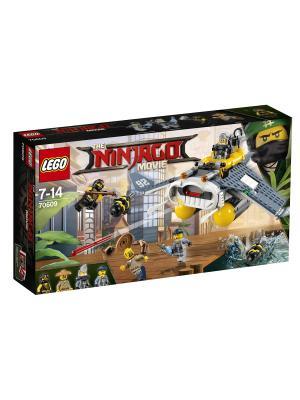 Ninjago Бомбардировщик Морской дьявол 70609 LEGO. Цвет: синий