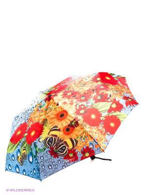 Зонт Flioraj. Цвет: красный, голубой, желтый