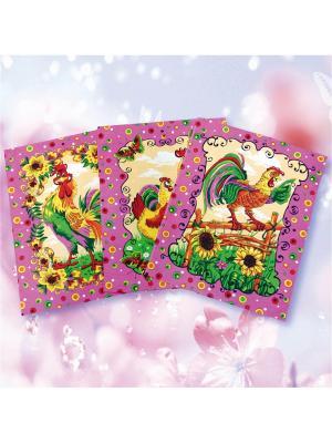 Комплект полотенец ZLATA KORUNKA. Цвет: розовый
