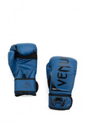 Перчатки боксерские Venum. Цвет: синий