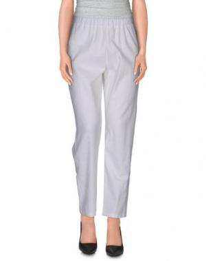 Повседневные брюки CORINNA CAON. Цвет: белый