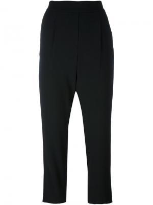 Укороченные брюки свободного кроя Steffen Schraut. Цвет: чёрный