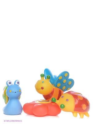 Игрушки для ванны Сад Alex. Цвет: оранжевый