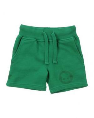 Повседневные брюки HYDROGEN. Цвет: зеленый