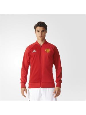 Бомбер муж. MUFC ANTH JKT H Adidas. Цвет: красный