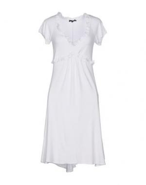 Короткое платье UNGARO FEVER. Цвет: белый