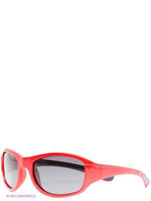 Очки Polaroid. Цвет: красный