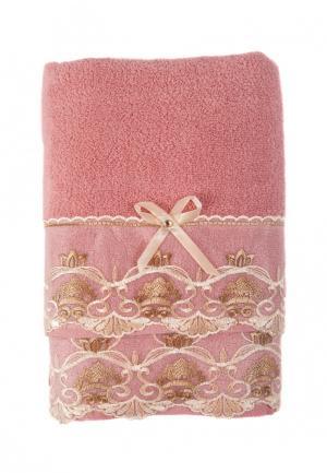 Комплект полотенец 2 шт. La Pastel. Цвет: розовый