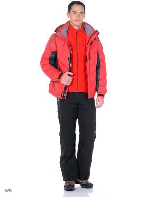 Куртка Think Pace. Цвет: красный, черный
