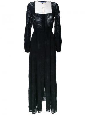 Платье Caviar Macgraw. Цвет: чёрный