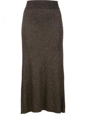 Длинная юбка A.L.C.. Цвет: чёрный