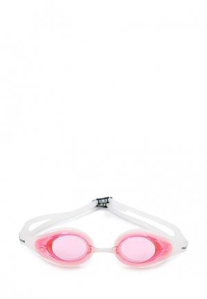 Очки для плавания MadWave. Цвет: розовый