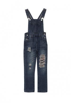 Комбинезон джинсовый Modis. Цвет: синий