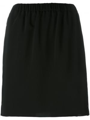 Эластичная юбка Kenzo. Цвет: чёрный