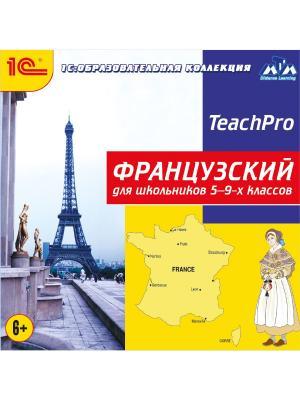 1С:Образовательная коллекция. Французский для школьников 5-9-х классов 1С-Паблишинг. Цвет: белый