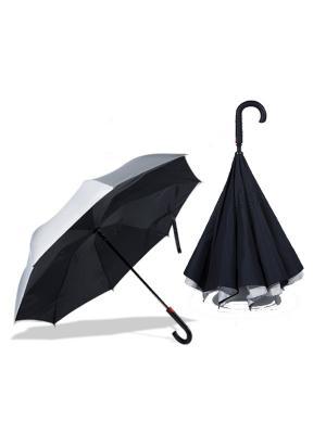Двусторонний зонт Remax RT-U1 Silver. Цвет: черный, серый