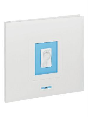 Фотоальбом с отпечатком Baby Art. Цвет: белый, коричневый