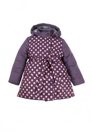 Куртка утепленная Zukka. Цвет: фиолетовый