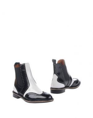 Полусапоги и высокие ботинки MARC BY JACOBS. Цвет: белый
