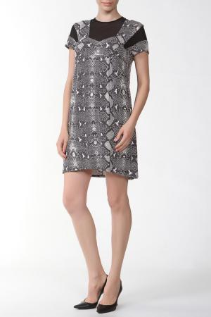 Платье Balmain. Цвет: мультицвет