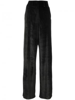 Широкие брюки Damir Doma. Цвет: чёрный