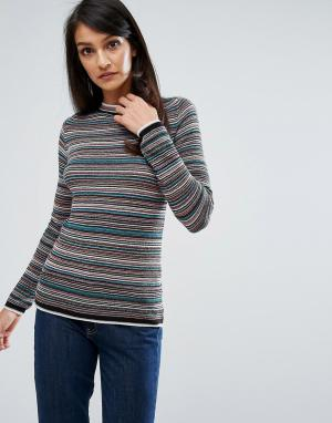 MiH Jeans Вязаный джемпер в полоску M.i.h. Цвет: мульти