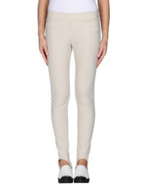 Повседневные брюки ALEX VIDAL. Цвет: светло-серый