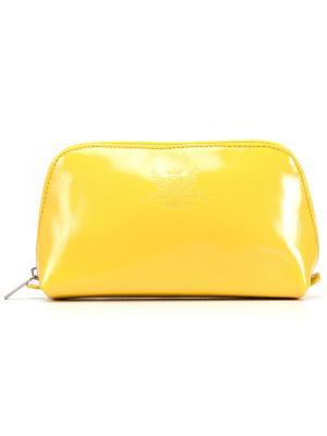 Косметичка VERSADO. Цвет: желтый