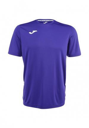 Футболка спортивная Joma. Цвет: фиолетовый