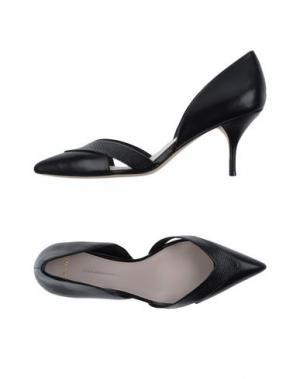 Туфли AERIN. Цвет: черный