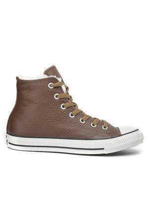 Полуботинки Converse. Цвет: коричневый